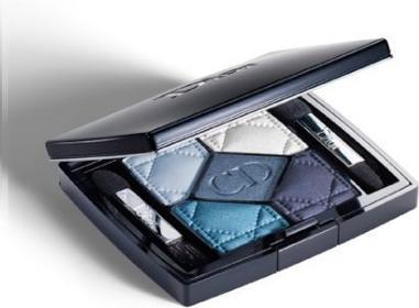 Dior Christian 5 Couleurs 276 Carre Bleu Paleta pięciu Cień - 6g