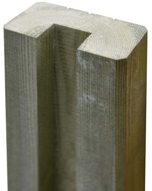 Opinie o Blooma Słupek drewniany  połówka 7 x 180 cm
