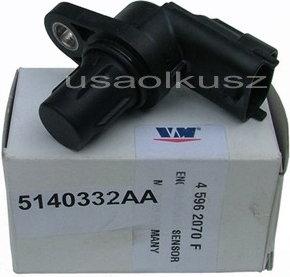 VM Czujnik położenia wałka rozrządu Jeep Wrangler 2,8 CRD 2007- 5140332AA