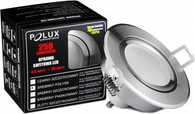 Polux Oczko halogenowe SUN LED GU10 3,5W 20W Srebrny połysk 301185