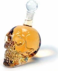Alkoholowa czaszka - butelka
