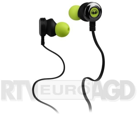 Monster Clarity HD czarno-zielone (CLARITY HD IN-EAR GREEN)