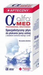 Alfa Med Specjalistyczny płyn do płukania jamy ustnej dla osób przed w trakcie i po terapii nowotworowej