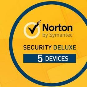 Symantec Norton Security 2016 Deluxe 3.0 (5 urz. / 1 rok) - Nowa licencja