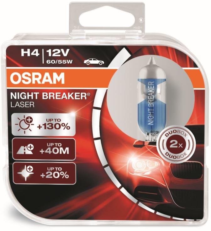 OSRAM H4 12V 60/55W P43t NIGHT BREAKER LASER
