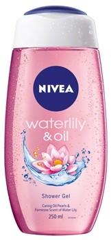 Nivea Waterlily & Oil orzeźwiający żel pod prysznic Shower Gel 250 ml