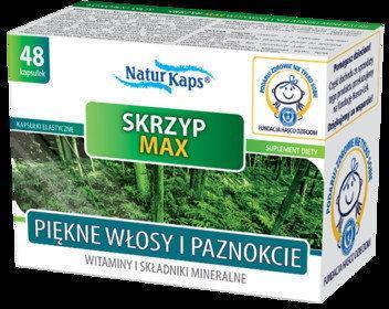 Hasco-Lek Naturkaps Skrzyp Max Witaminy i Minerały 48 szt.