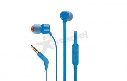 JBL T110 niebieskie
