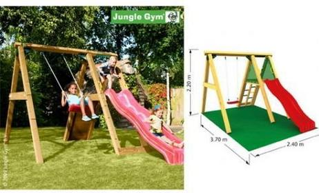 Jungle Gym Plac zabaw Peak