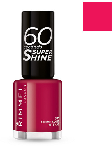 Rimmel 60 Seconds Super Shine lakier do paznokci 430 Coralicious 8ml