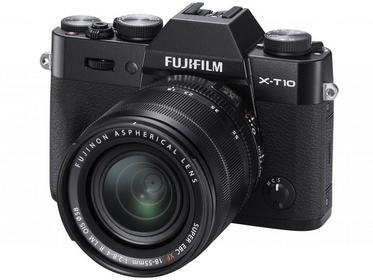 Fuji X-T10 + 18-55 kit czarny