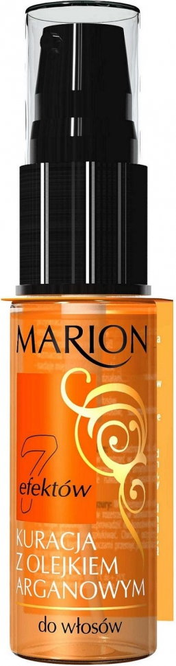 Marion 7 Efektów Kuracja Do Włosów z Olejkiem Arganowym 15ml