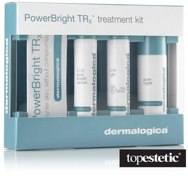 Dermalogica Power Bright Kit TRx Zestaw rozjaśniający Serum 10ml, Krem 10ml, Krem na noc 10ml