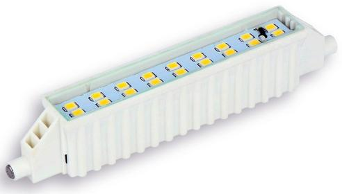 Led line Żarówka halogenowa żarnik halogen LED R7S 118mm SMD 6W (60W) 500lm 230V barwa ciep