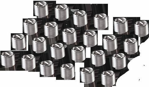 NEO Wkłady do naprawy gwintów M5, 25 szt. 11-905