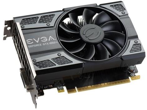 EVGA GeForce GTX 1050 Ti Gaming 4GB (04G-P4-6251-KR)
