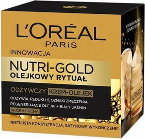 Loreal Nutri-Gold Nutri-Gold odżywczy krem z mikro-perełkami olejku Nourishing Cream with Micro-beads of Oil 50ml