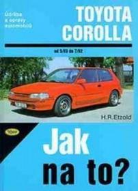 Hans-Rüdiger Etzold Toyota Corolla od 5/83 do 7/92 Hans-Rüdiger Etzold