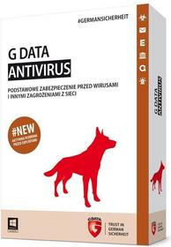 GData AntiVirus 2015 (1 stan. / 2 lata) - Nowa licencja