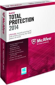 McAfee Total Protection 2014 (3 stan. / 1 rok) - Nowa licencja
