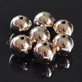 CCB17 Element ozdobny przekładka akryl (złota) 3szt 16mm