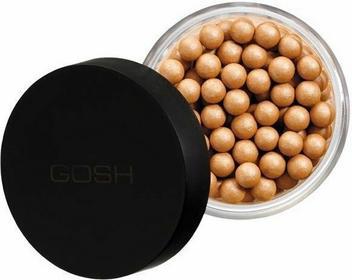 GOSH , Precious Powder Pearls Glow, Opalizująco-brązujący w kulkach