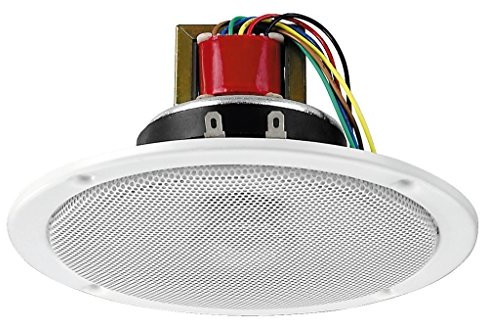 Monacor EDL-150/WS PA głośniki sufitowe EDL-150/WS