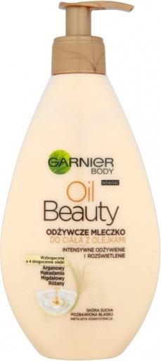Garnier Body Oil Beauty odżywcze mleczko z olejkami do skóry suchej 250ml
