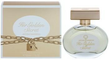 Antonio Banderas Her Golden Secret woda toaletowa 50ml