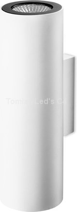 Leds-C4 C4 Lampa ścienna, Kinkiet PIPE kol. Biały (05-2759-14-05) -