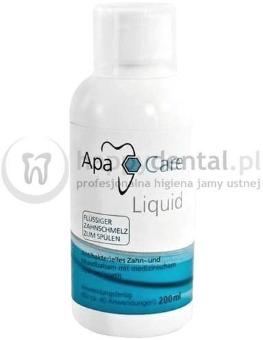 ApaCare Cumdente Liquid 200ml - remineralizująca płukanka zawierająca medyczny n