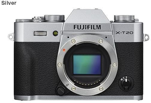 Fuji X-T20 body srebrny