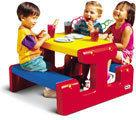 Little Tikes Stół piknikowy Czerwono-niebieski 4795
