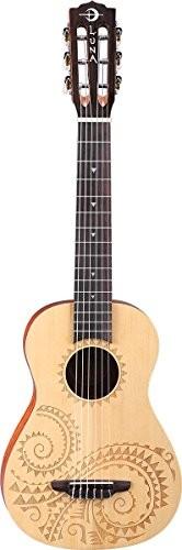 Luna Guitars uketat6Baritone gitara 76,2cm (30cali) UKE TAT 6