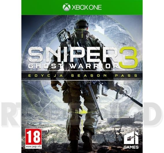 Premiera Sniper Ghost Warrior 3 Edycja Season Pass XONE