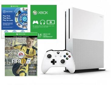 Microsoft Xbox One S 1 TB +Pad +Live + Fifa17 +1M Ea Access