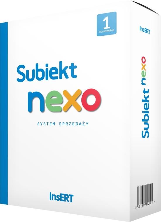 Opinie o InsERT Subiekt Nexo (3 stan. rozszerzenie)