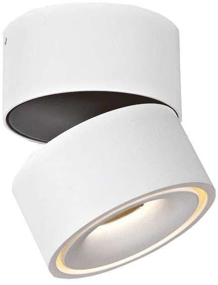 Mistic Lighting Natynkowa LAMPA sufitowa BROKEN MSTC-05411010 metalowa OPRAWA reflektorowa LED 9,3W biały