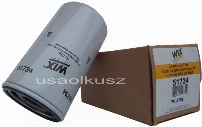 FORD WIX Filtr oleju silnika Excursion 7,3 TD