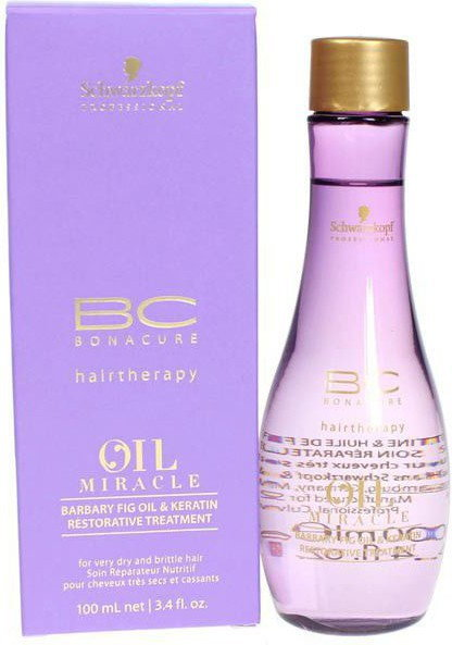 Schwarzkopf BC Oil Miracle Barbary Fig Oil Keratin Restorative Treatment - Kuracja odbudowująca do włosów, 100ml