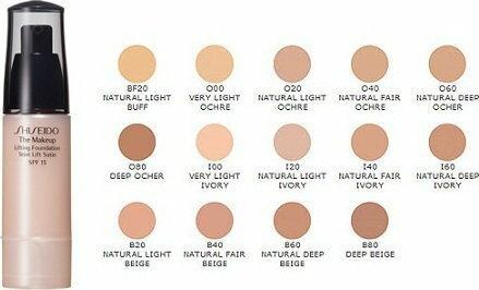 Shiseido The Makeup Lifting Foundation SPF 15 B20 Natural Light Beige nawilżając
