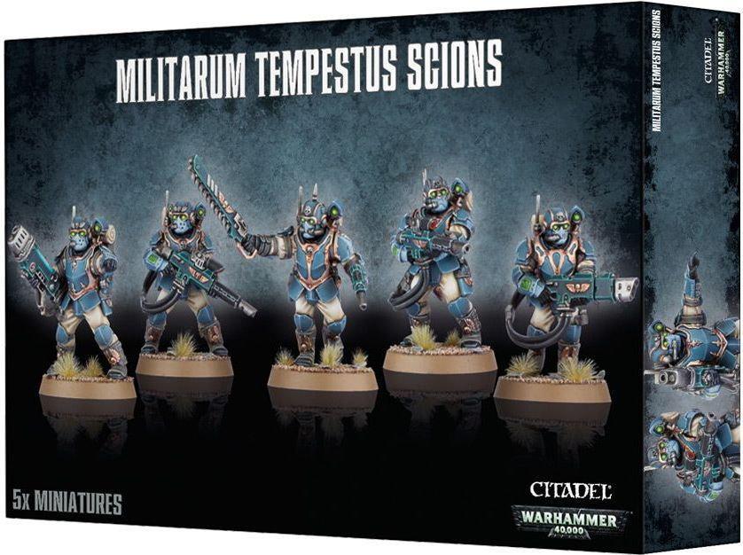 Games Workshop Militarum Tempestus Scions (47-15) 99120105055