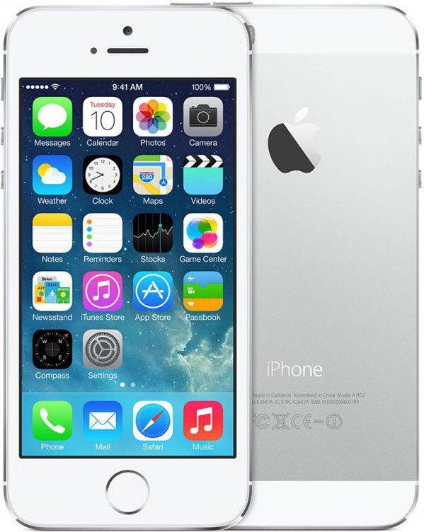 Apple iPhone 5s 16GB srebrny