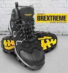 Opinie o Reis BREXTREME S3 SRC - nubukowe buty robocze typu trzewik, wzmocnie na czubku, odblaski z boku - 39-47.