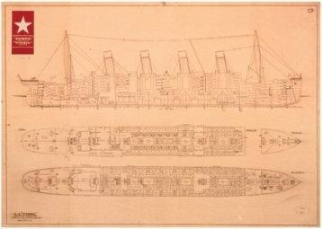 Titanic (Plans) - Obraz, reprodukcja