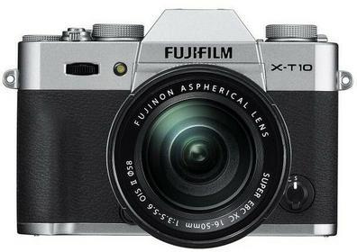 Fuji X-T10 + 16-50 II srebrny
