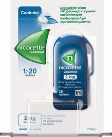 McNeil Nicorette Coolmint 2mg 20 szt.