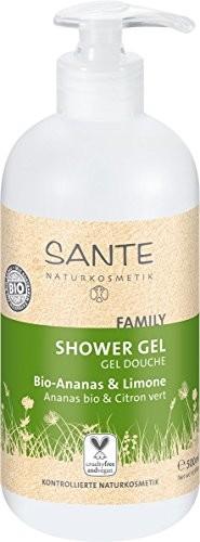 Sante Naturkosmetik Sante naturalny kosmetyków żel pod prysznic, bio-pineapple i Lemon (500ML) 42025