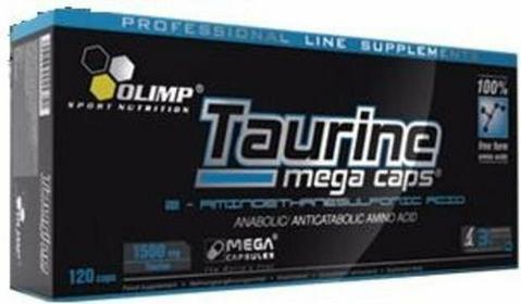 Olimp Taurine Mega Caps 120 kaps/1500 mg