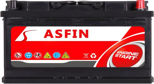 ASFIN 100Ah 800A (EN) P+